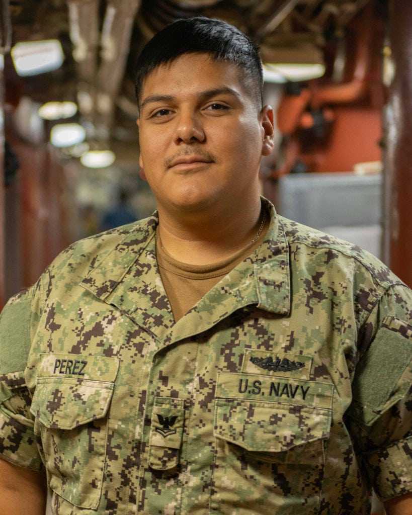 Petty Officer 2nd Class Rafael Perez