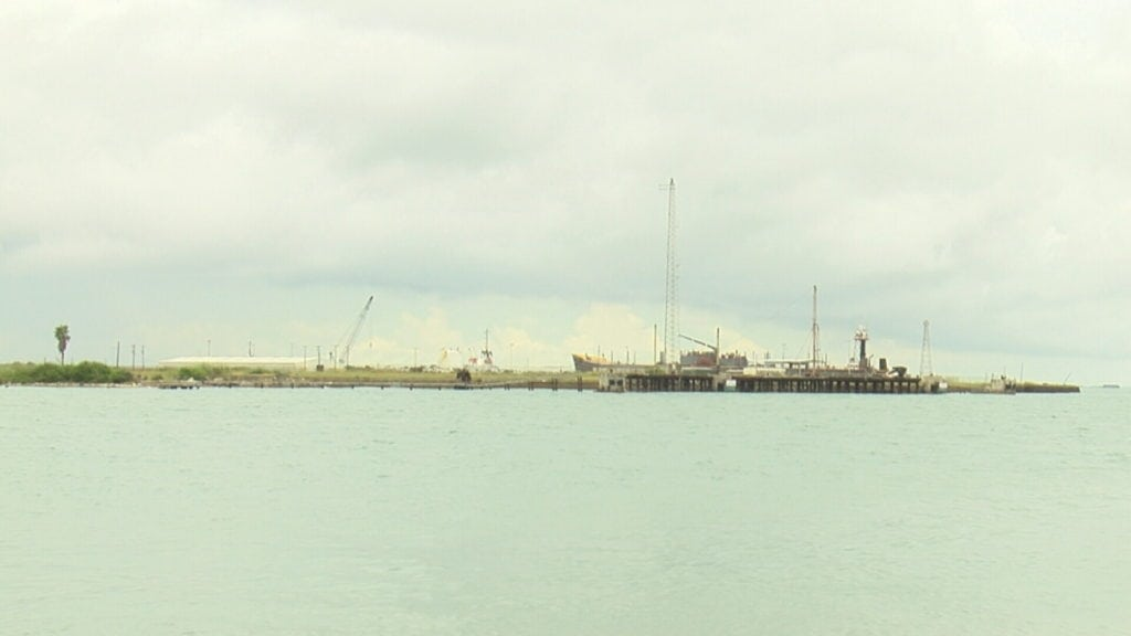 A Port Aransas environmental group is against the Port of Corpus Christi's proposal to put a desalination plant on Harbor Island.