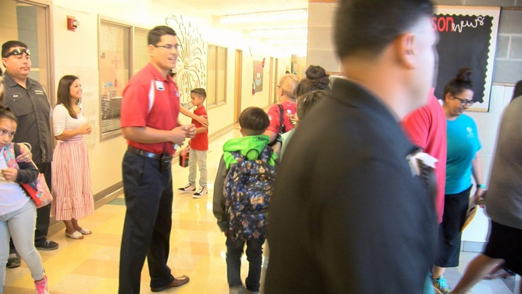 Thousands of students return for first day of school