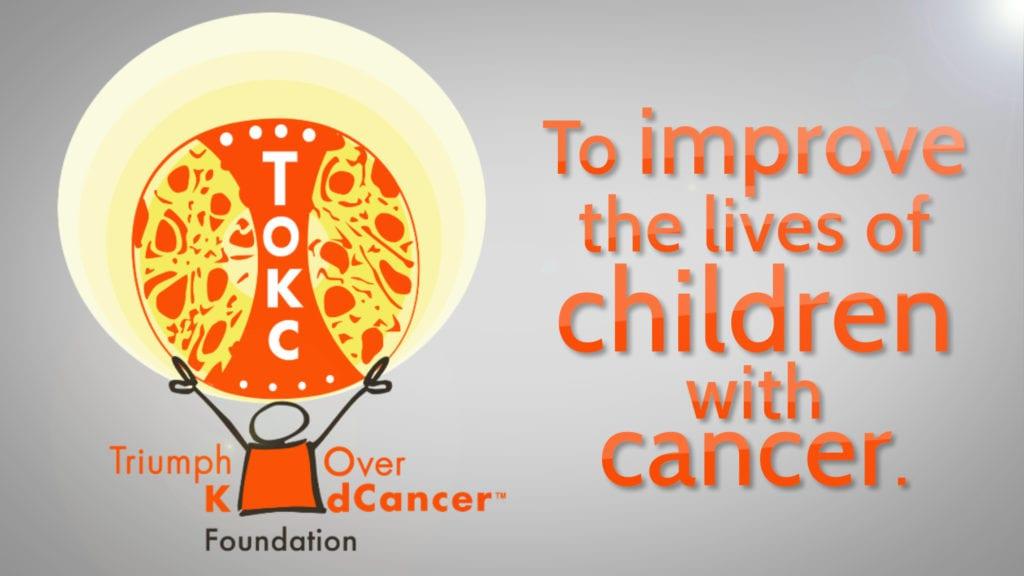 Triumph Over Kid Cancer logo