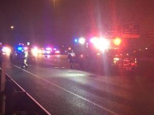 I-37 pedestrian fatality