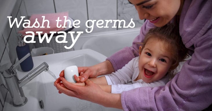 Wash the Germs Away