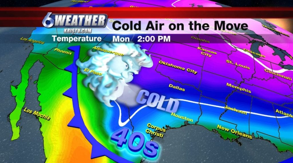 Next blast of cold air arrives late this weekend.