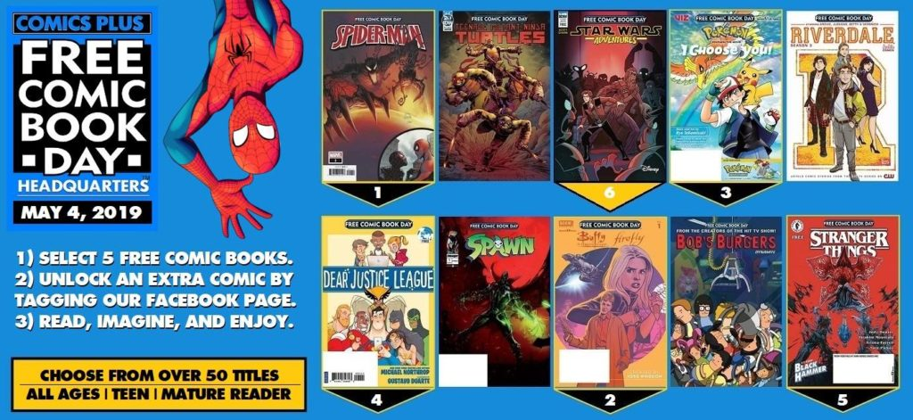 free comic book day 2019 comics
